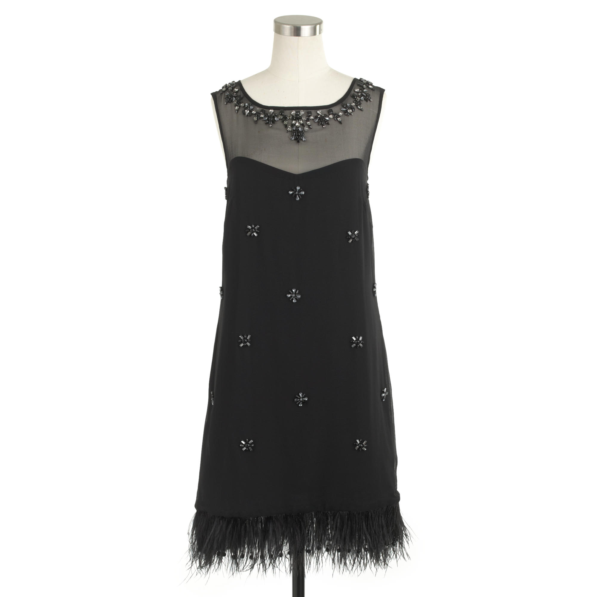 How To Clean Your Closet Collection Beaded Feather Dress J Crew