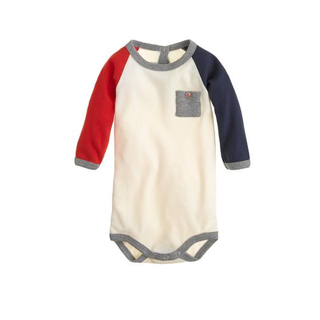 Baby Petit Bateau® cavalier one-piece
