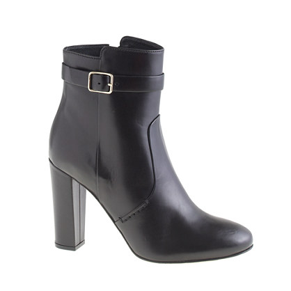 Collection high-heel buckle boots