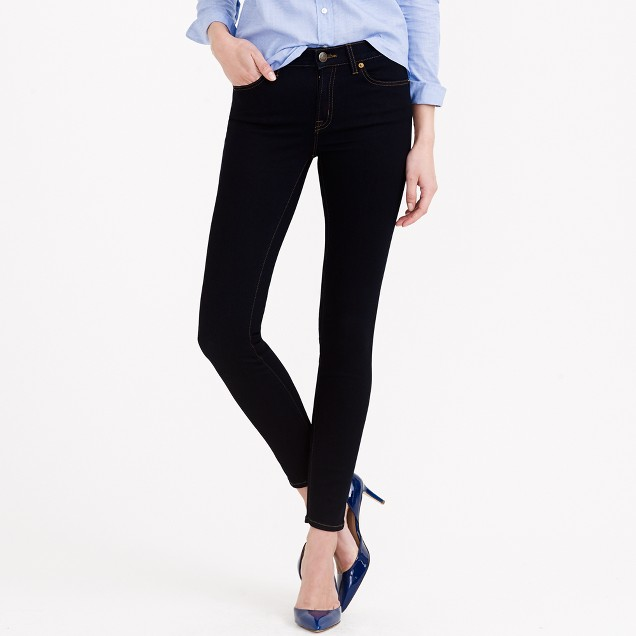 Tall ever stretch toothpick jean in resin rinse