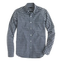 Slim Secret Wash shirt in Chatham bay plaid