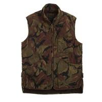 Broadmoor quilted vest in camo