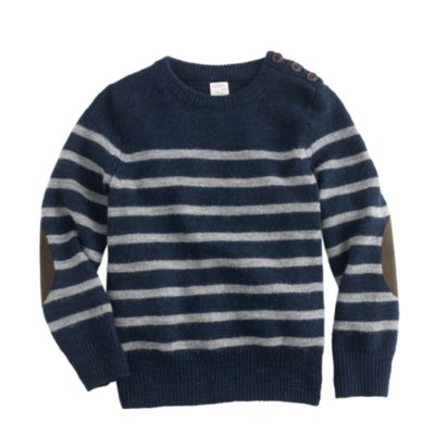J Crew Elbow Patch Sweater