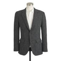 Ludlow suit jacket in herringbone Harris Tweed wool