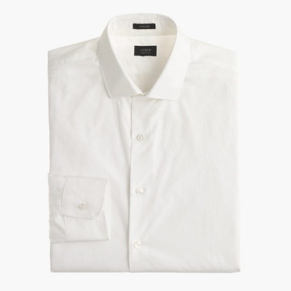 Ludlow spread-collar shirt with convertible cuffs
