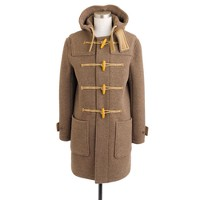 Harbour duffle coat in English wool