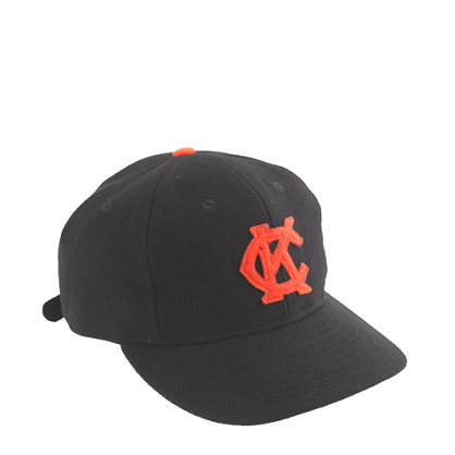 Ebbets Field Flannels® for J.Crew Kansas City Monarchs twill ball cap