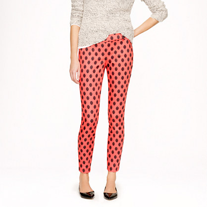 Tall Minnie pant in medallion print