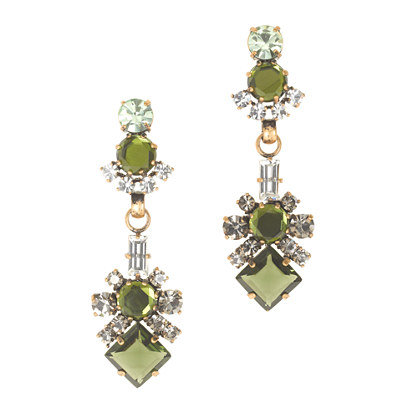 Luxe crystal statement earrings