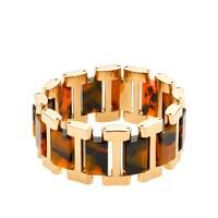 Golden-link tortoise bracelet
