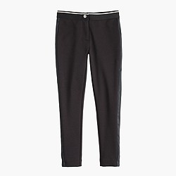 Girls' Pixie pant in tux stripe