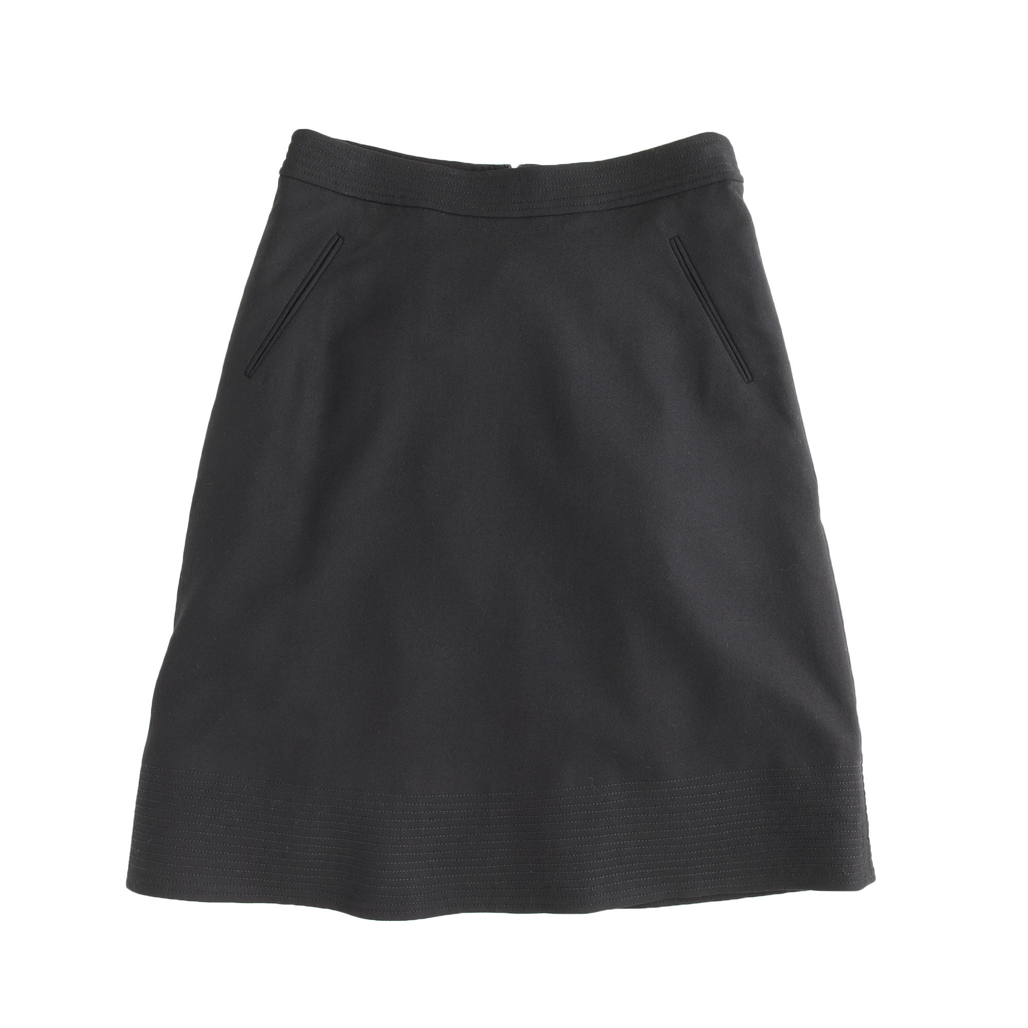 Wool A-line skirt : Women A-line/Midi | J.Crew