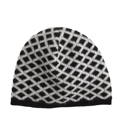 Cashmere diamond hat
