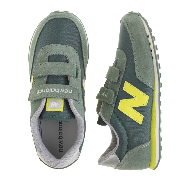 Kids' New Balance® for crewcuts KE410 Velcro® sneakers in olive