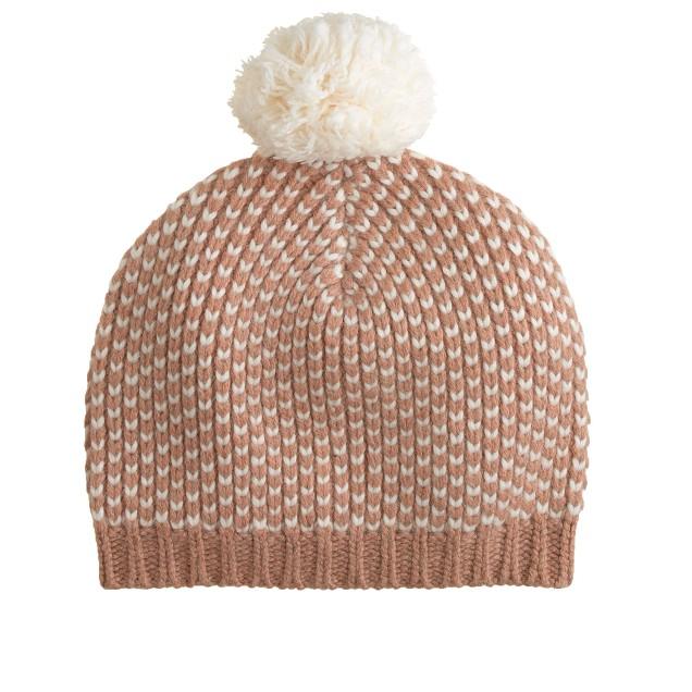 Chevron checker hat