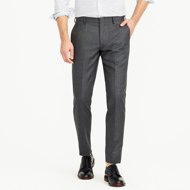 Ludlow suit pant in Italian cashmere