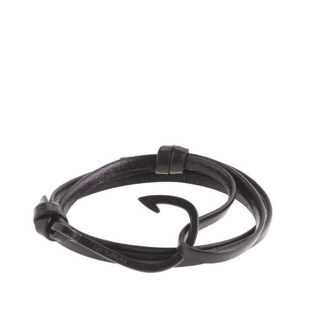 Miansai® leather hook bracelet