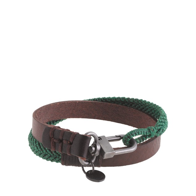 Caputo & Co. chevron double-wrap bracelet
