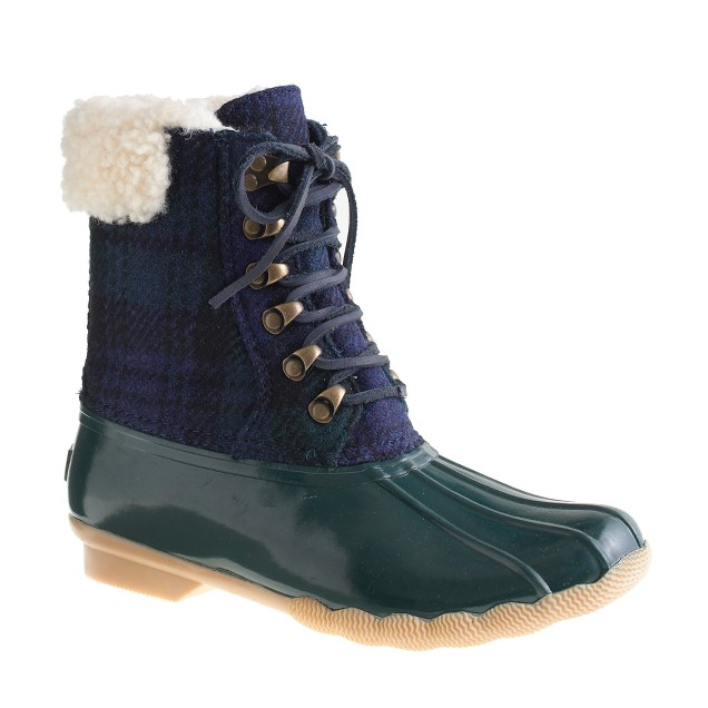 Sperry Top-Sider® for J.Crew flannel shearwater boots