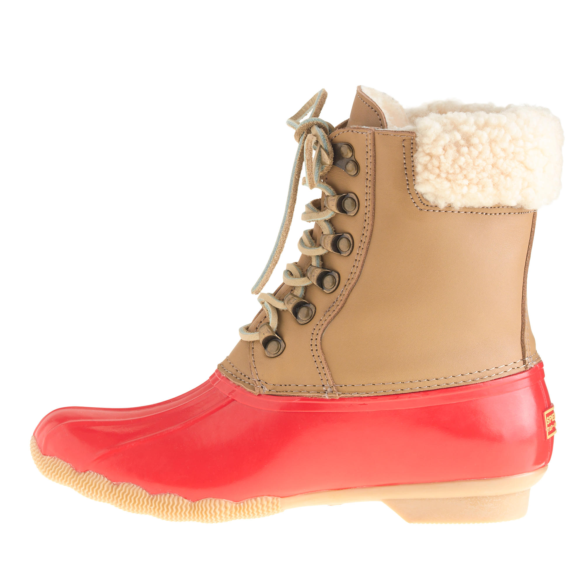 Sperry Top-Sider® for J.Crew leather shearwater boots : | J.Crew