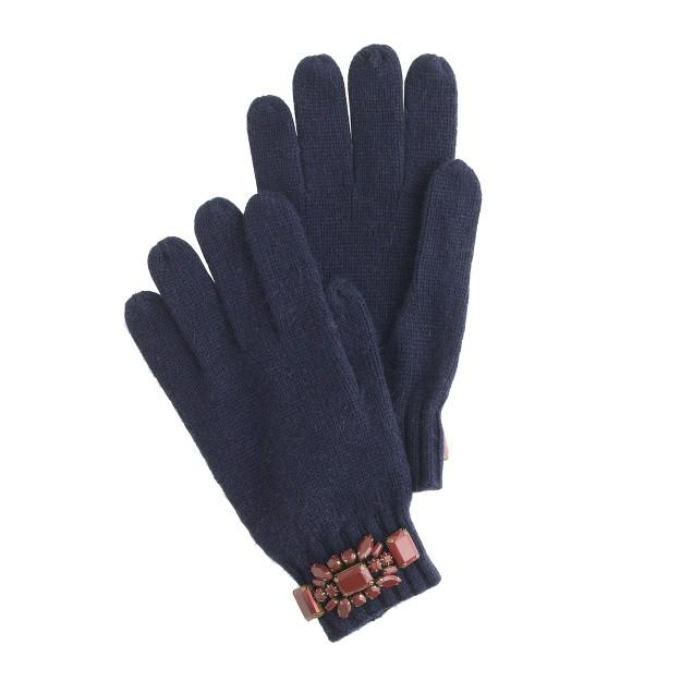 Jeweled gloves