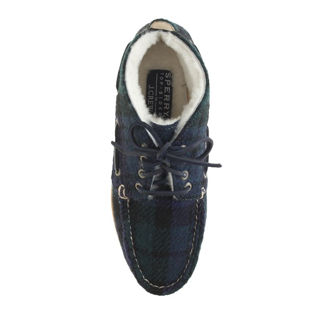Sperry Top-Sider® for J.Crew shearling-lined wool chukka boots