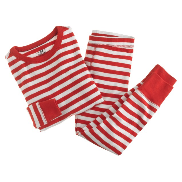 Boys' stripe sleep set