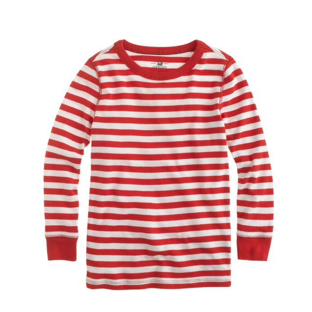 Boys' stripe sleep set