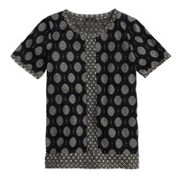 Mixed prints T-shirt