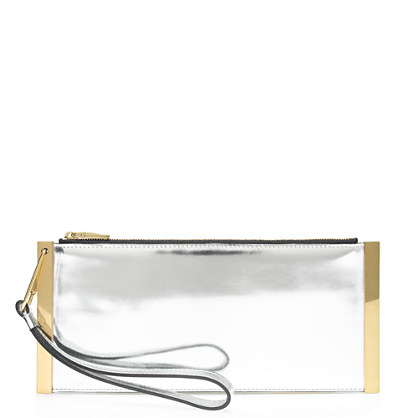 Mirror metallic bar clutch