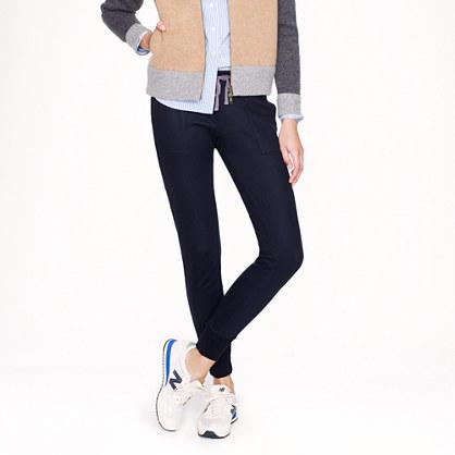 Wool utility pant