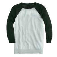 Merino Tippi baseball sweater