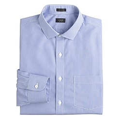 Slim Ludlow Traveler shirt in blue gingham