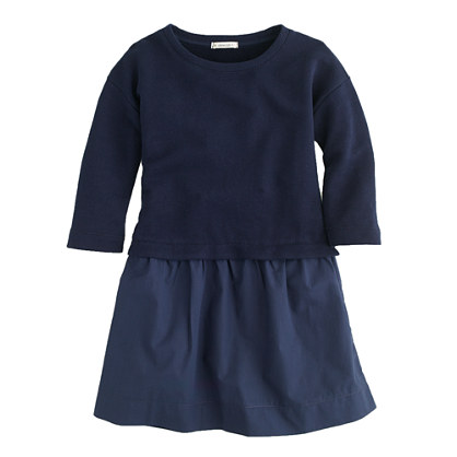 Girls' combo dress