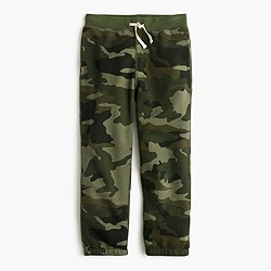 Boys' camo sweapant in classic fit