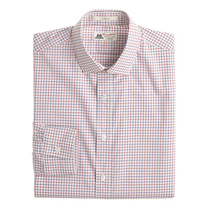 Thomas Mason® for J.Crew Ludlow shirt in chili powder check