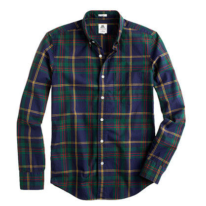 Slim Thomas Mason® Archive for J.Crew shirt in 1924 tartan