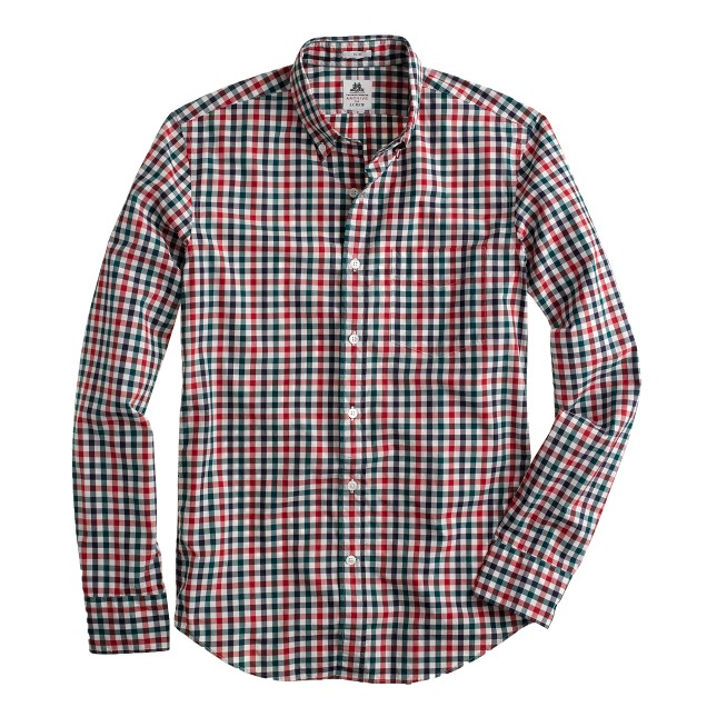 Slim Thomas Mason® Archive for J.Crew shirt in 1918 gingham