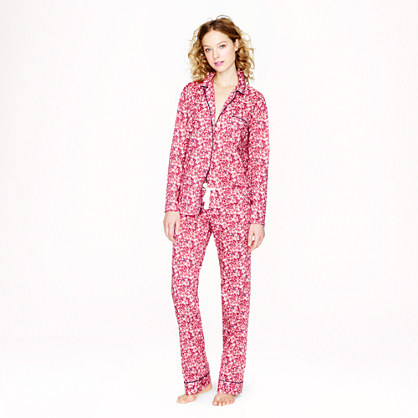 Liberty pajama set in katie ann floral