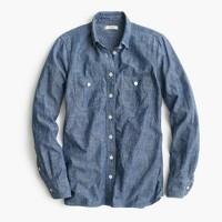 Selvedge chambray shirt