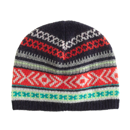 Pattern mix hat