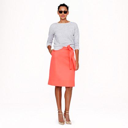 Collection neon faille skirt