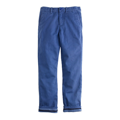 Boys' jersey-lined cozy pant