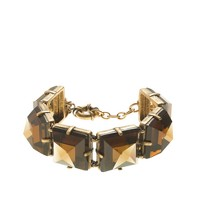 Mirrored pyramids bracelet