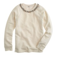 Necklace sweatshirt