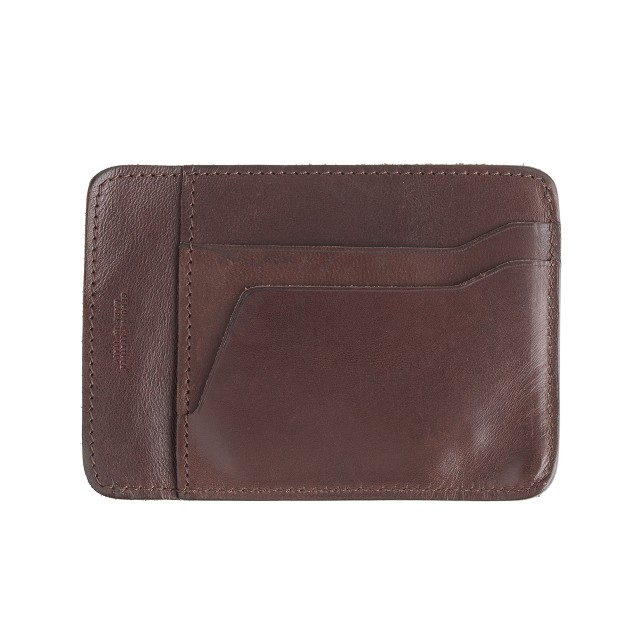 Wallace & Barnes leather card holder