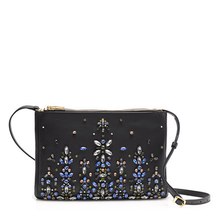 Collection jeweled convertible clutch