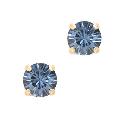 Swarovski crystal dot earrings