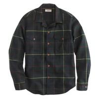 Wallace & Barnes shirt-jacket in English wool
