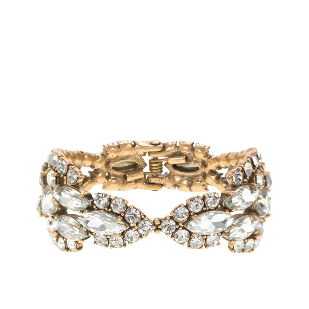 Crystal icicle bracelet